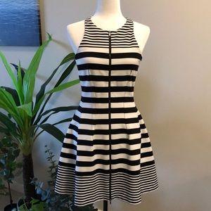BCBG MaxAzria black & white dress size small